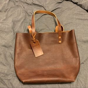 KMM & Co Kodiak Tote in Tan